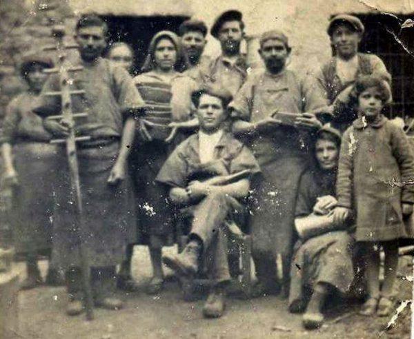 Sul finire del 1800, i primi anni nel Caseificio Garau